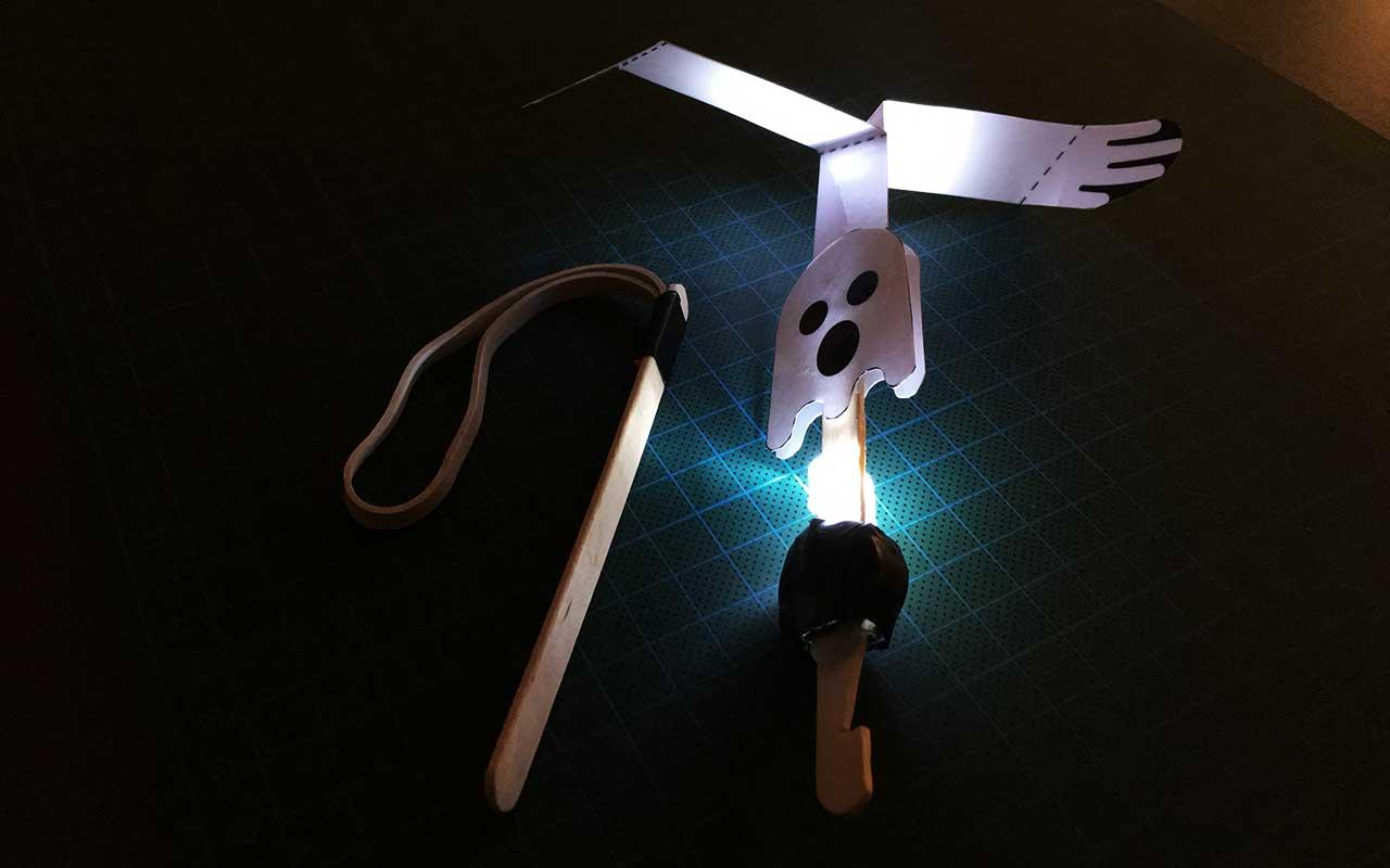 Spøgelses-LED-o-kopter
