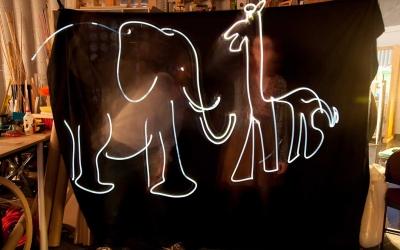 Workshop: Levende tegninger med lys