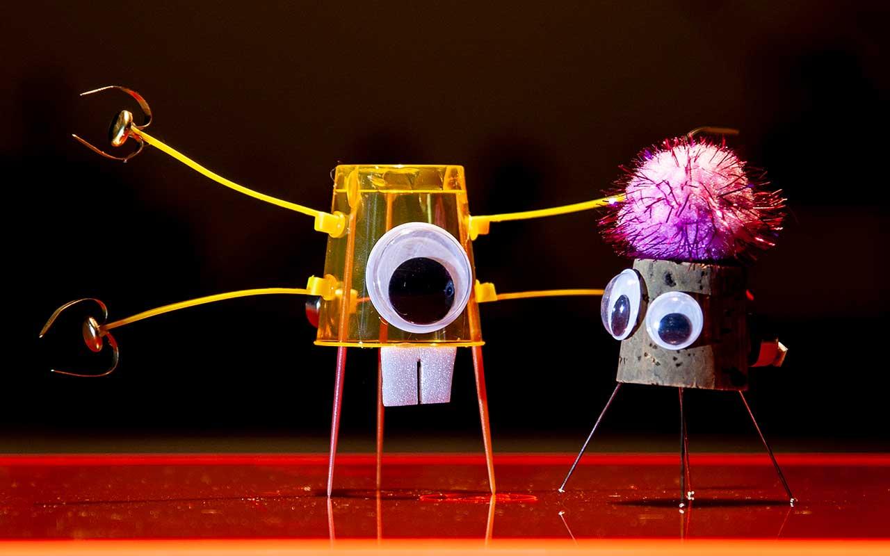 2 mikro-robotter