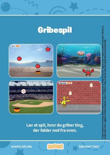 Kode-kort serien Gribe-spil.