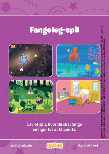 Kode-kort serien Fangeleg-spil.